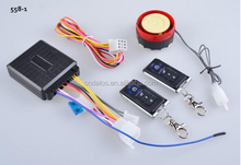 12V motorcycle alarm system with remote start,High Quality 12V Motorcycle Anti-Theft Car Alarm System