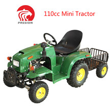 High quality 110cc small garden tractor with loader