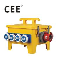 CEE-20 industrial plugs and sockets Outdoor portable power distribution box switch socket box