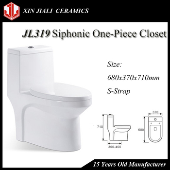 JL319 Siphonic One-Piece Toilet