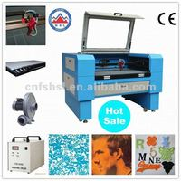 High Speed Cheap Laser Cutting Engraving Machine for Fabric Non-woven Jeans Silk