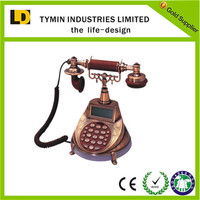 2016 Best selling luxury corded telephone with call id display for antique phone
