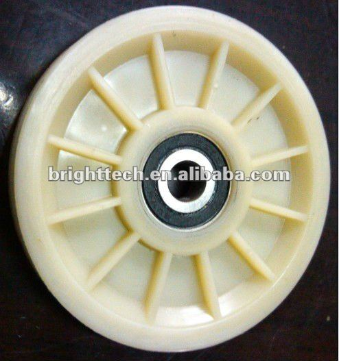 plastic injection moulding for textile machinery's parts