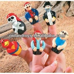toy pirate party finger puppet toy