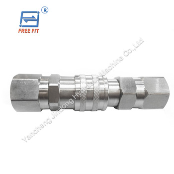 China manufacturer Flat Face Couplings ISO16028