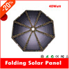 Fashion professional 40W fabric flexible portable solar panel charger