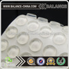 Clear EPDM domed rubber bumper protection pads