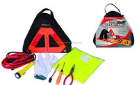 9pc car emergency kit