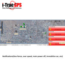 GPRS Browser Server Based tracking software