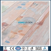 PG22218 - PINGO Pink Color Laminate Flooring