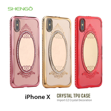 Shengo High Quality TPU Electropled Mirror Discount Oterbox Phone Cases for samsung galaxy s3