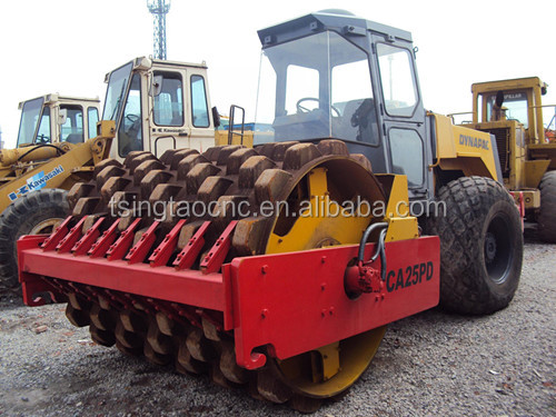 Used Dynapac Road Roller CA25, used CA25/CA30/CA251D/CC522/CC622 road roller, used roller
