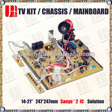 "Supply Factory Price 14-21"" 25-29"" 29-34"" Chassis for Tv"