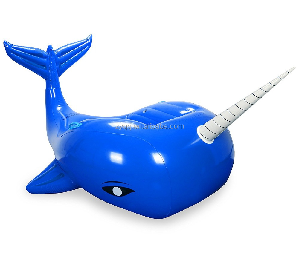 Narhwal Whale Inflatable Premium Quality Giant Size Pool Float