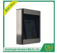 SMB-067SS New Design 3 Doors Galvanized Iron Letter Box Mailboxes