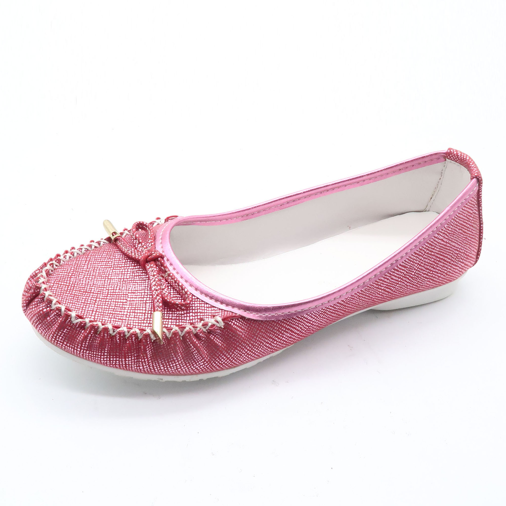 Newest Deign Women Leather Moccasin Lady Shoes