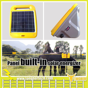 12V solar power electric fence controller for horses