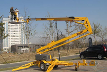 Hot sale trailer mounted boom lift truck mounted articulating boom