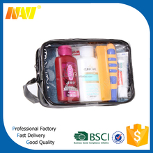 clear vinyl pvc zipper pouch(NV-P0208)