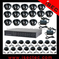 16 Channel H.264 DVR Surveillance System With 2TB HDD 16 Camera Cctv System