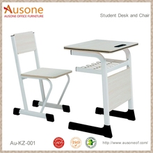 Economic Metal Frame Student Desk and Chair