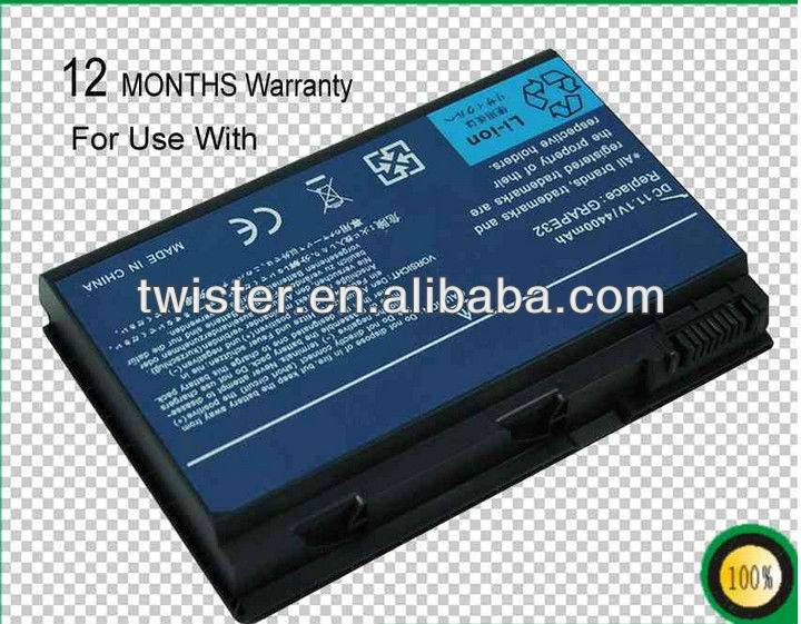 Replacement Laptop / notebook Battery for AC ER Extensa 5210 Series Extensa 5220 Series Extensa 5420G Series