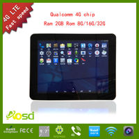 2014 best dual camera G100 oem manufacturer best price 9.7 4g 3g android tablet 9.7 inch