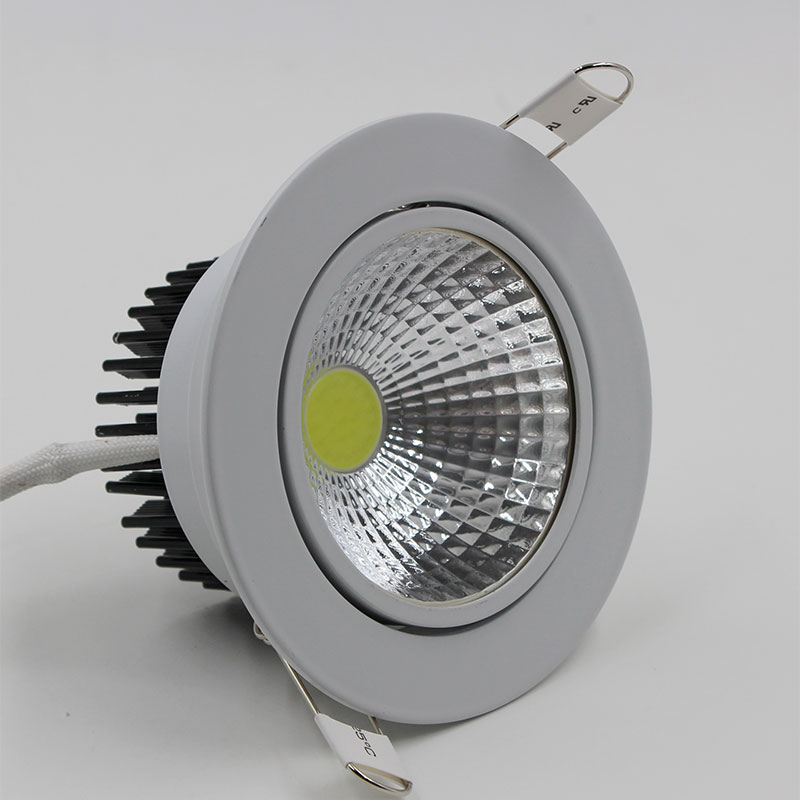 Australia LED DownLight Dimmable 220V LED Spot Recessed Downlight middle frosted glass