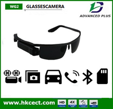 Stereo bluetooth mp3 sunglasses with video camera 1280*720 TF card