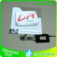 electroluminescent animated poster light up el advertising