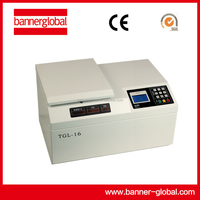 TGL-16 Table top high speed refrigerated centrifuge/Best Selling/Lab equipment