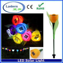 lowes solar lights for fence posts low voltage led twinkle lights flower power solar JD-140A