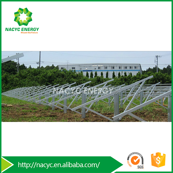 Newest Fashion Top Class Solar Ground Mounting Kits System Solar Ground Mounted Racking for Solar Plant-Nacyc Metis SP