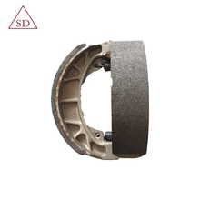 High quality factory manufacture motorcyle cg125 brake shoe