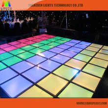 wholesale kid toys Acrylic digital floor led screen sign p5 p6 led floor tile panel indoor full color p8 led module