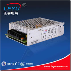ISO9001 certification approved MS-50-24 50w 24v mini switching power supply 24v