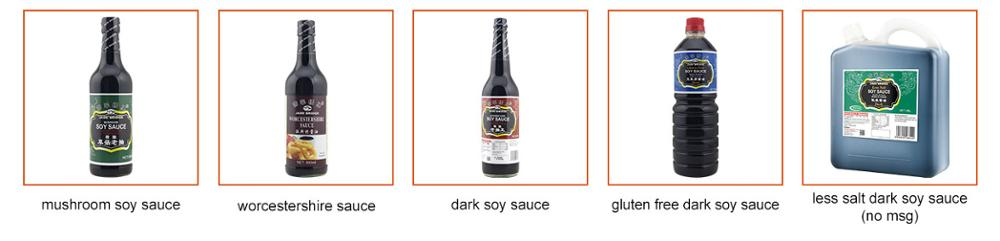 Worcester sauce spicy soy sauce for EU market