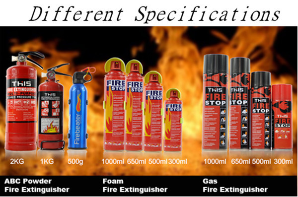 500ml fire extinguisher factory