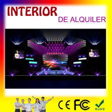 FASHION magnifica pantalla led de moda: p2p3p10 interior para rentar, for stage