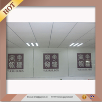 Fashional Design Blackout Printed Roller Blind One Way Window Blinds