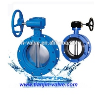 rubber seal 1 inch wafer butterfly valves price