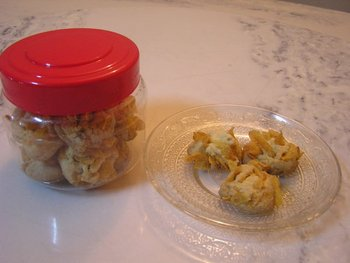 Home-made Cornflakes Cookies