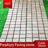 Porphyry Red Granite Paving Stone