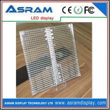 Building Transparent Glass Led Display,See Through Led Display Flexible