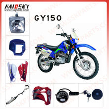 HAISSKY GY150 motorcycle spare parts for whole sale in China