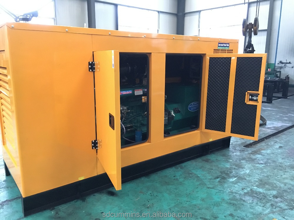 High Quality 550kva generator sets with cummins engine Silent Container Type
