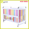 Hot china products wholesale european baby crib/baby bed swinging crib/folding baby travel crib