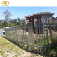 easily assembled palisade fencing 1.8m,metal palisade fencing 1.8m,steel palisade fencing 1.8m