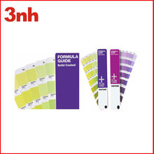 Paper pantone shade card for fabric