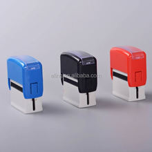 Plastic Self inking Stamp double foam flash rubber stamp